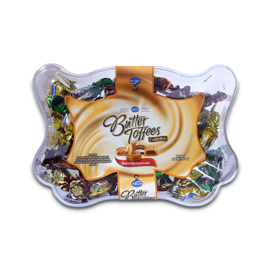 Arcor Butter Toffees 200g Collection
