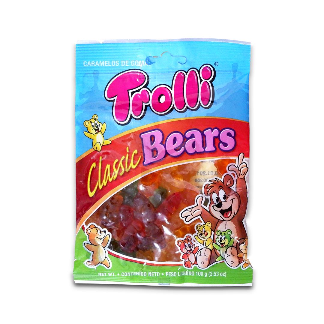 Trolli Classic Gummy Bears Gummy Candy 100g