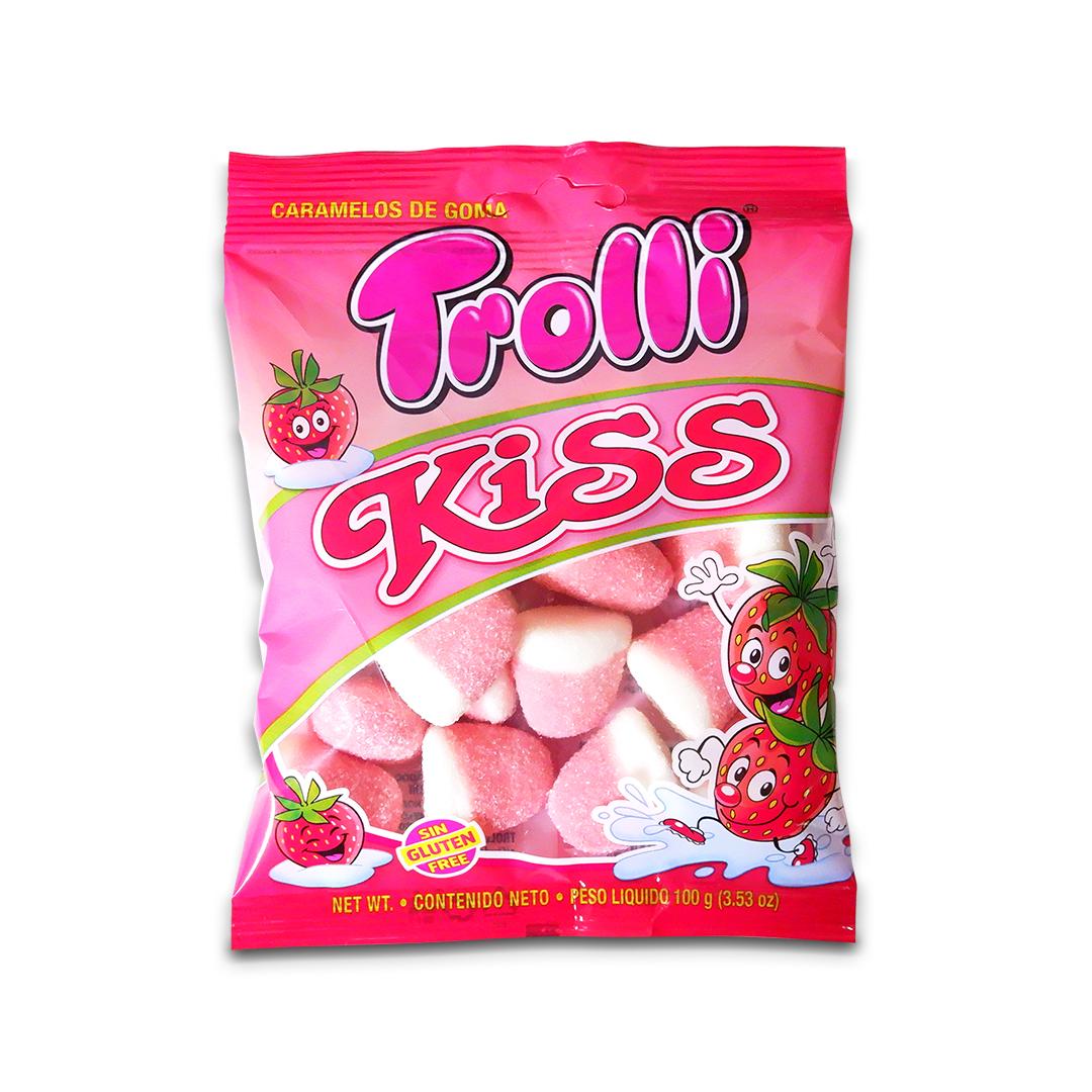 Trolli Kiss Gummy Candy 100g