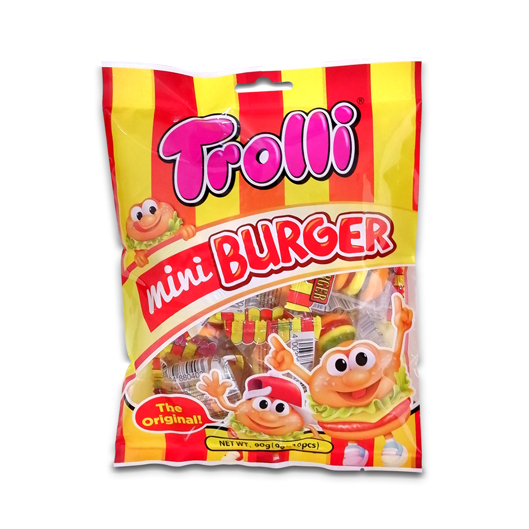 Trolli Mini Burger Gummy Candy 90g