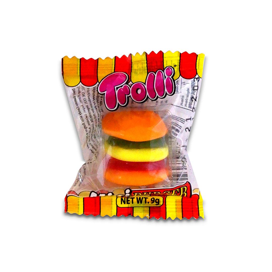 Trolli Mini Burger Gummy Candy 9g
