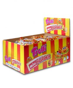 Trolli Mini Burger Gummy Candy 9g x 60