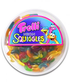 Trolli Neon Squiggles Gummy Candy 500g