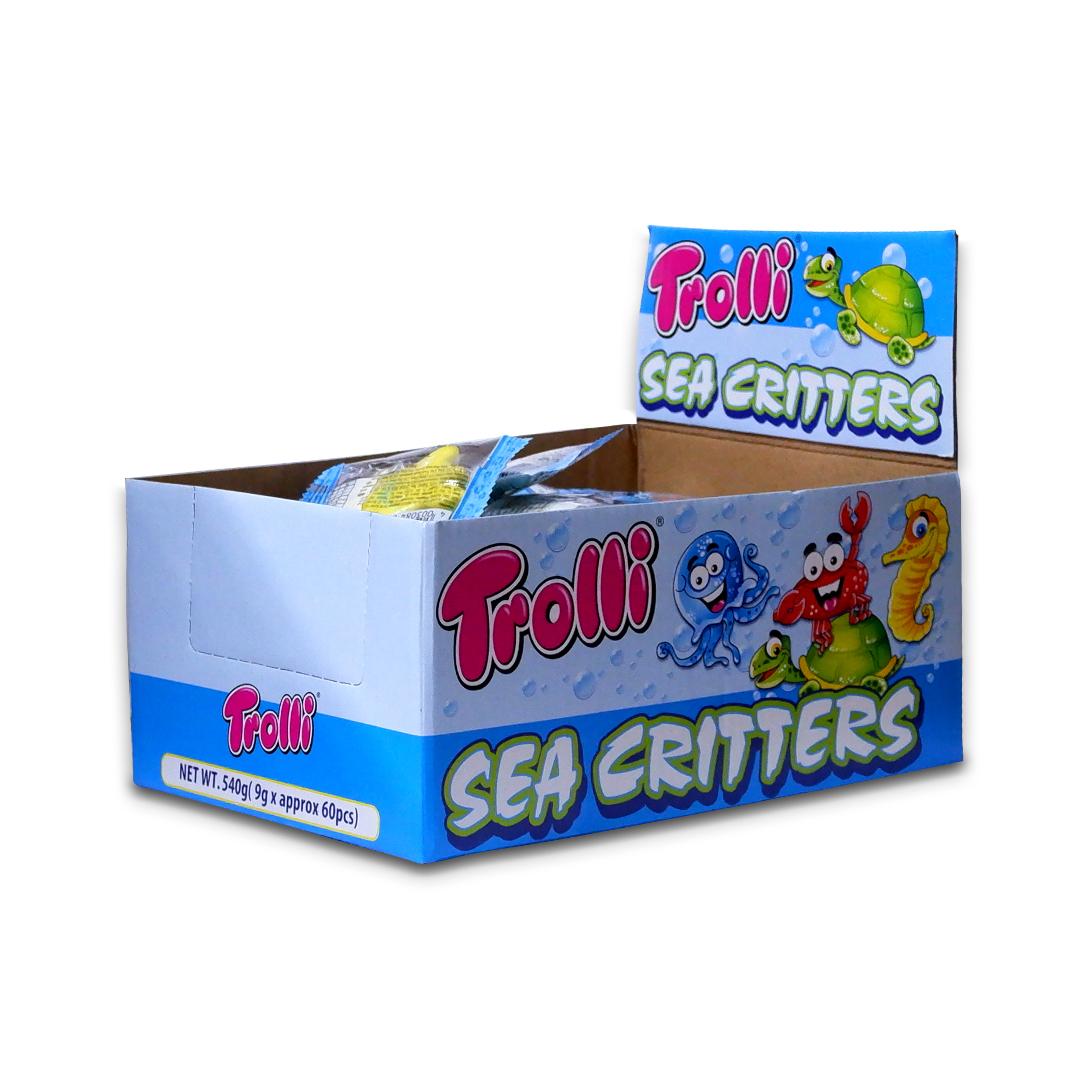 Trolli Sea Critters Gummy Candy 9g x 60
