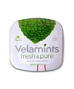 Velamints Spearmint Flavored Mint Candy Sugar Free Candy 20g