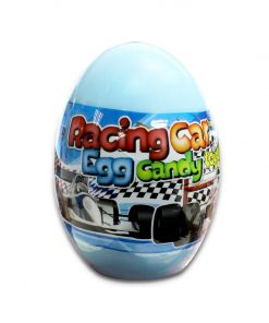Beardy Racing Car Egg Candy with Toys 10g