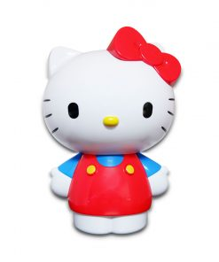 Hello Kitty Fruit Flavor Compressed Candy - Coin Bank 25g