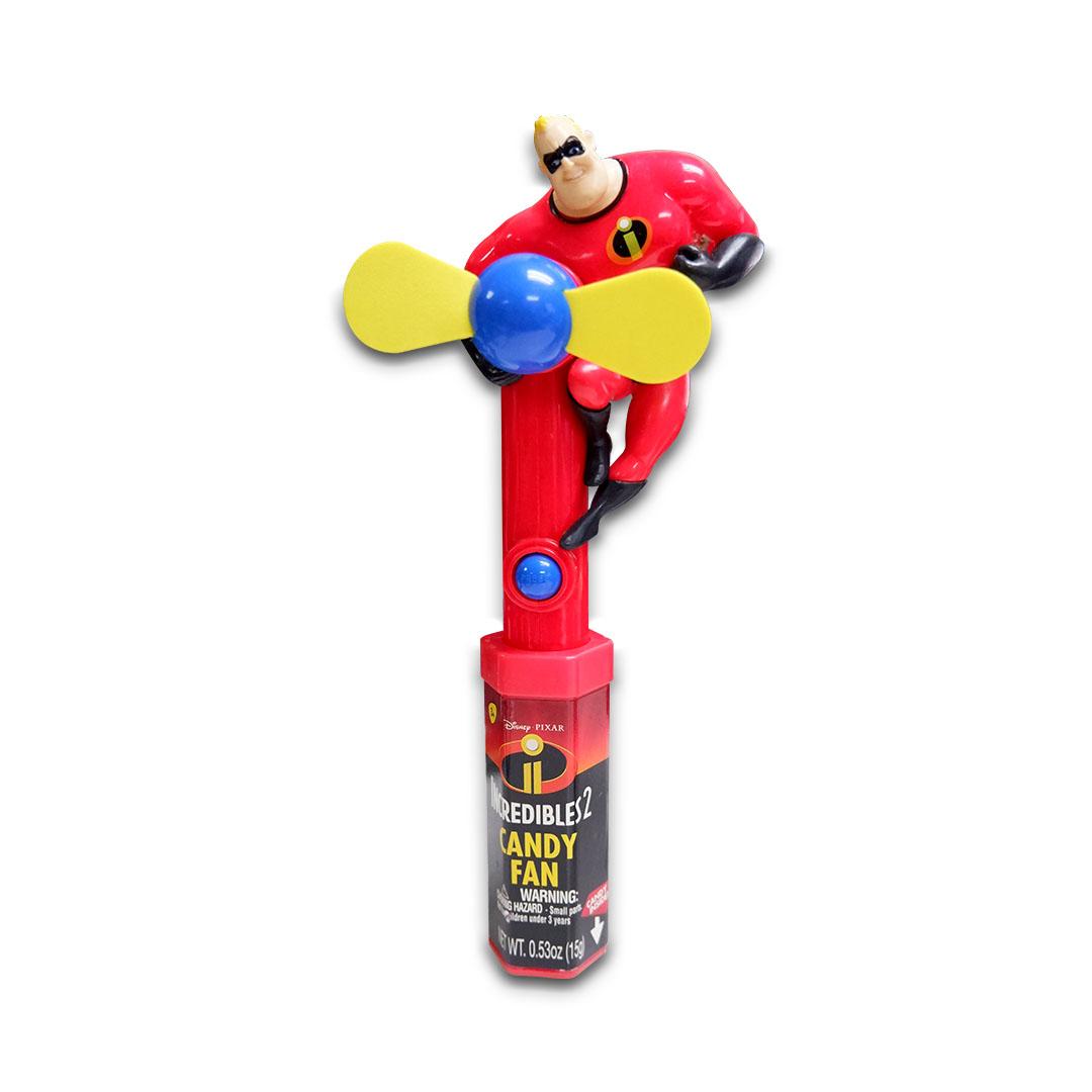 Disney Pixar Incredibles 2 Candy Fan 15g Mr. Incredible