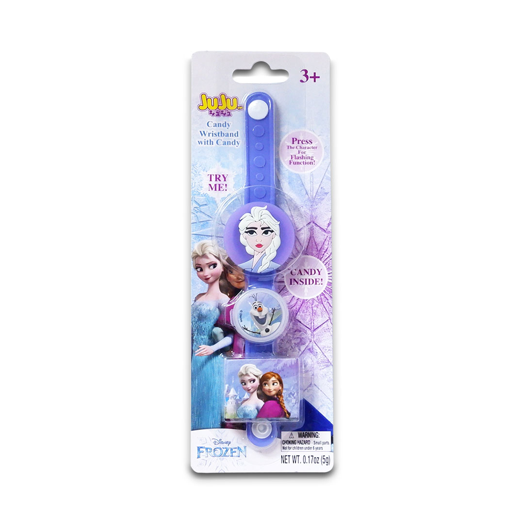 Juju Disney Frozen Candy Wrist Band with Light 5g Elsa