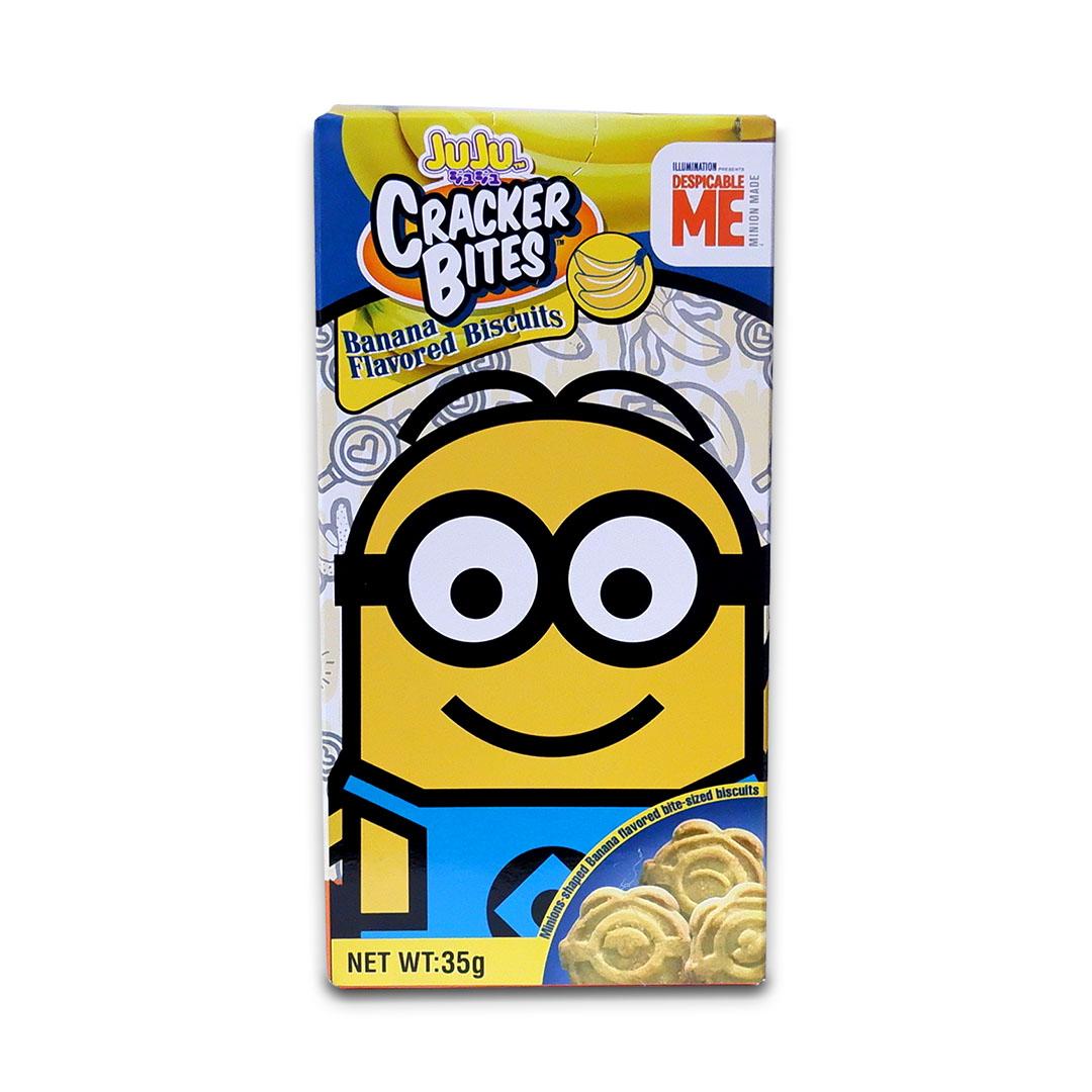 Juju Minions Cracker Bites Banana 35g Dave