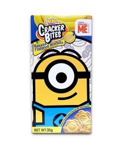 Juju Minions Cracker Bites Banana 35g Stuart