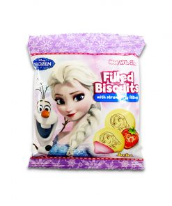 Juju Disney Frozen Filled Biscuit Strawberry 25g