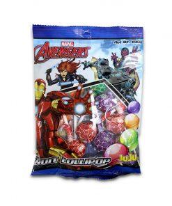 Juju Marvel Avengers Fruit Lollipop 100g