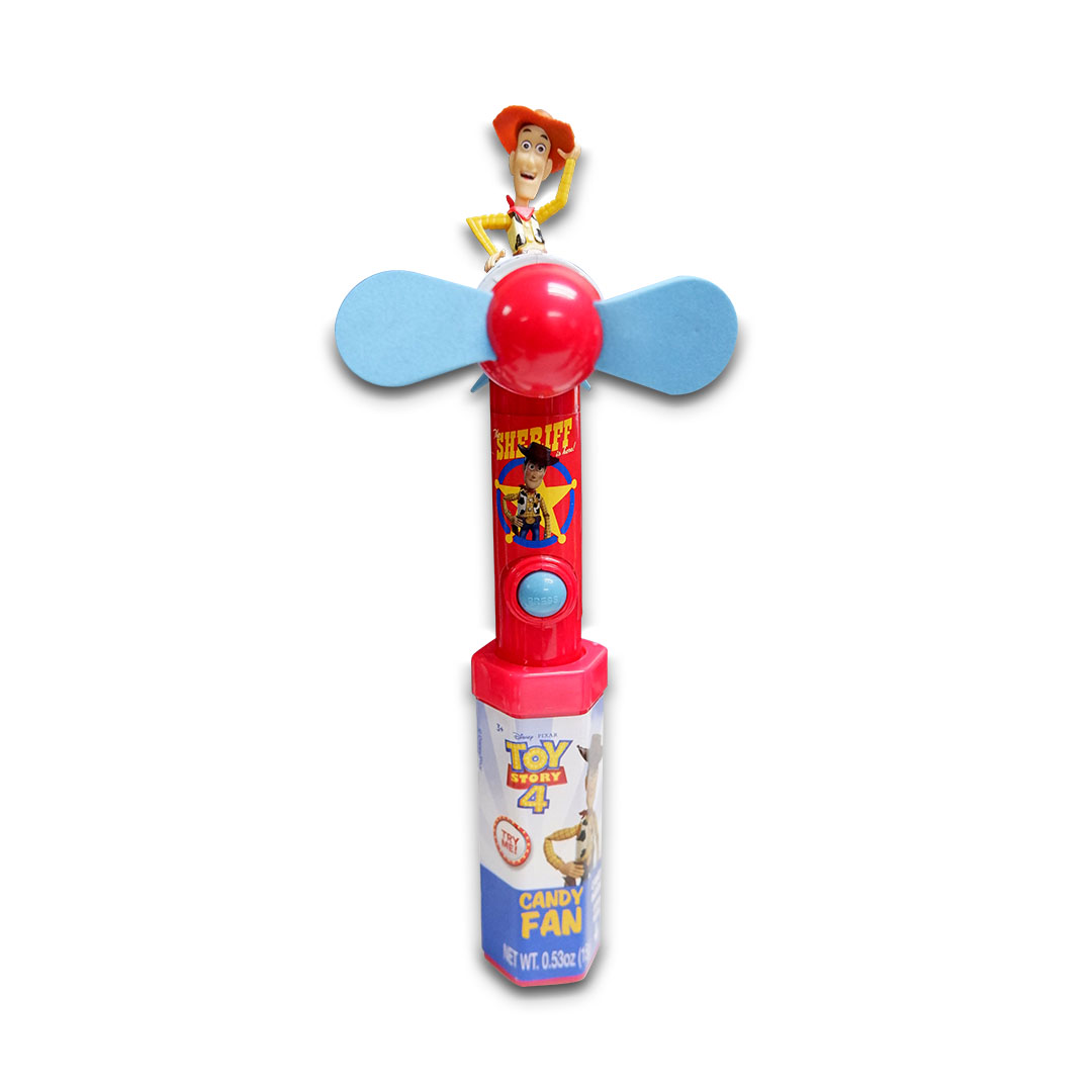 Disney Pixar Toy Story 4 Candy Fan 15g Sheriff Woody