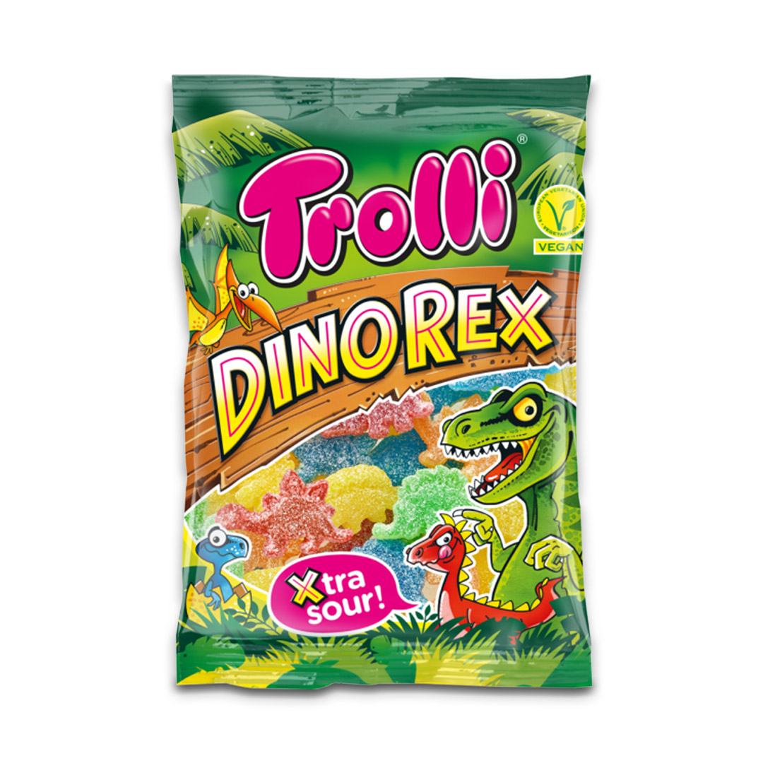 Trolli Dinorex Gummy Candy 200g
