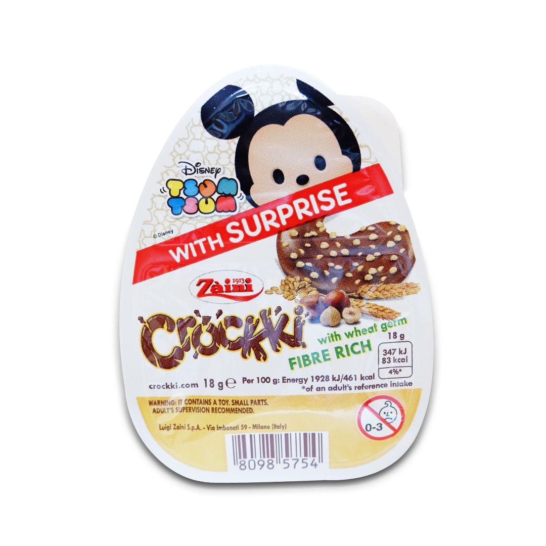 Zaini Crockki Disney Tsum Tsum Chocolate Hazelnut Cream 18g