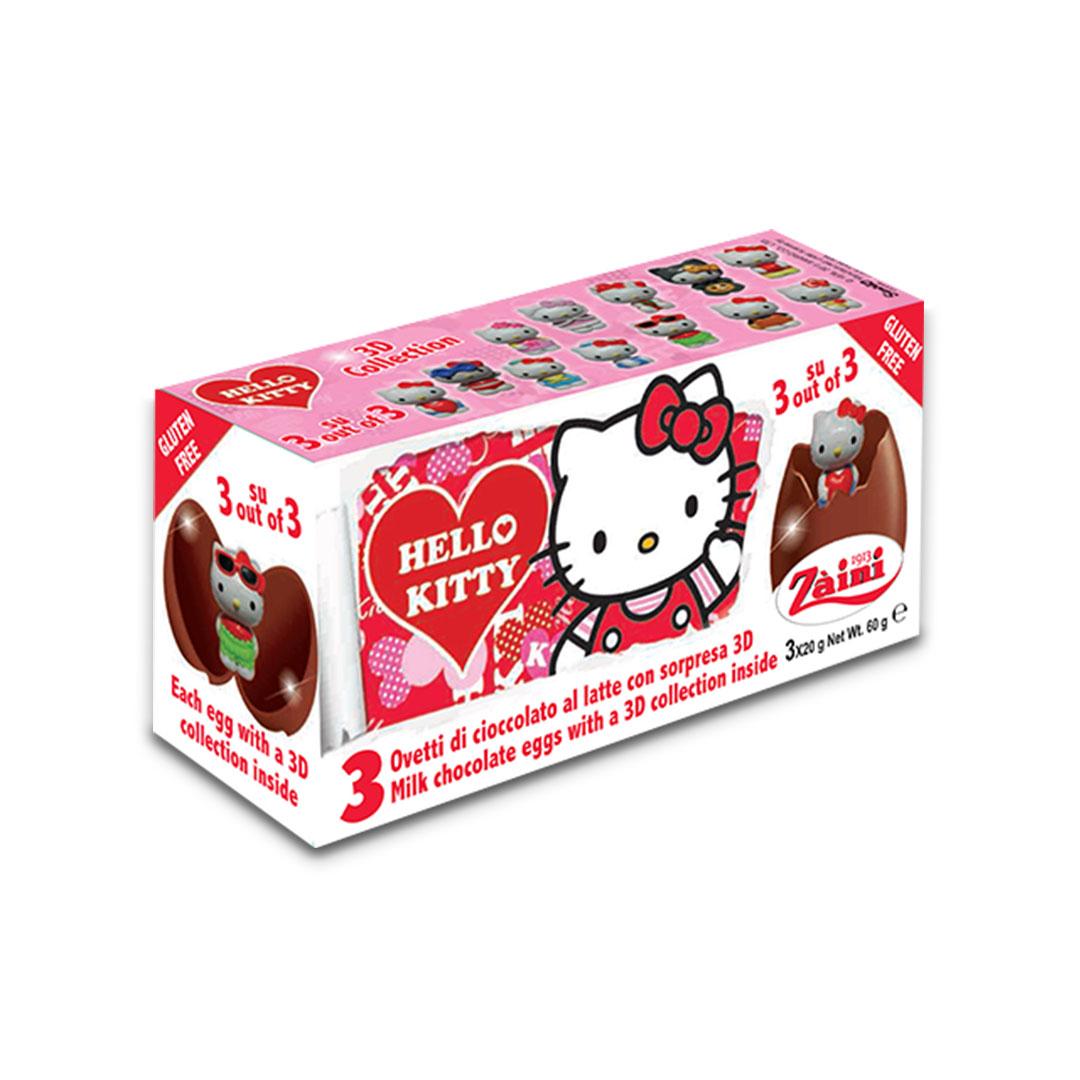 Zaini Hello Kitty Milk Chocolate Egg 60g