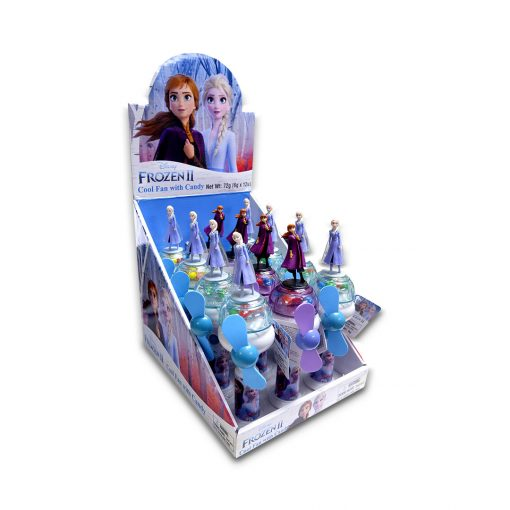 Disney Frozen 2 Cool Fan with Candy 6g x 12