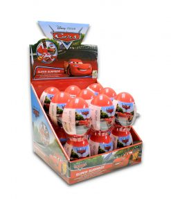 Disney Pixar Cars Surprise Egg with Sweets & Surprises Inside 10g x 18