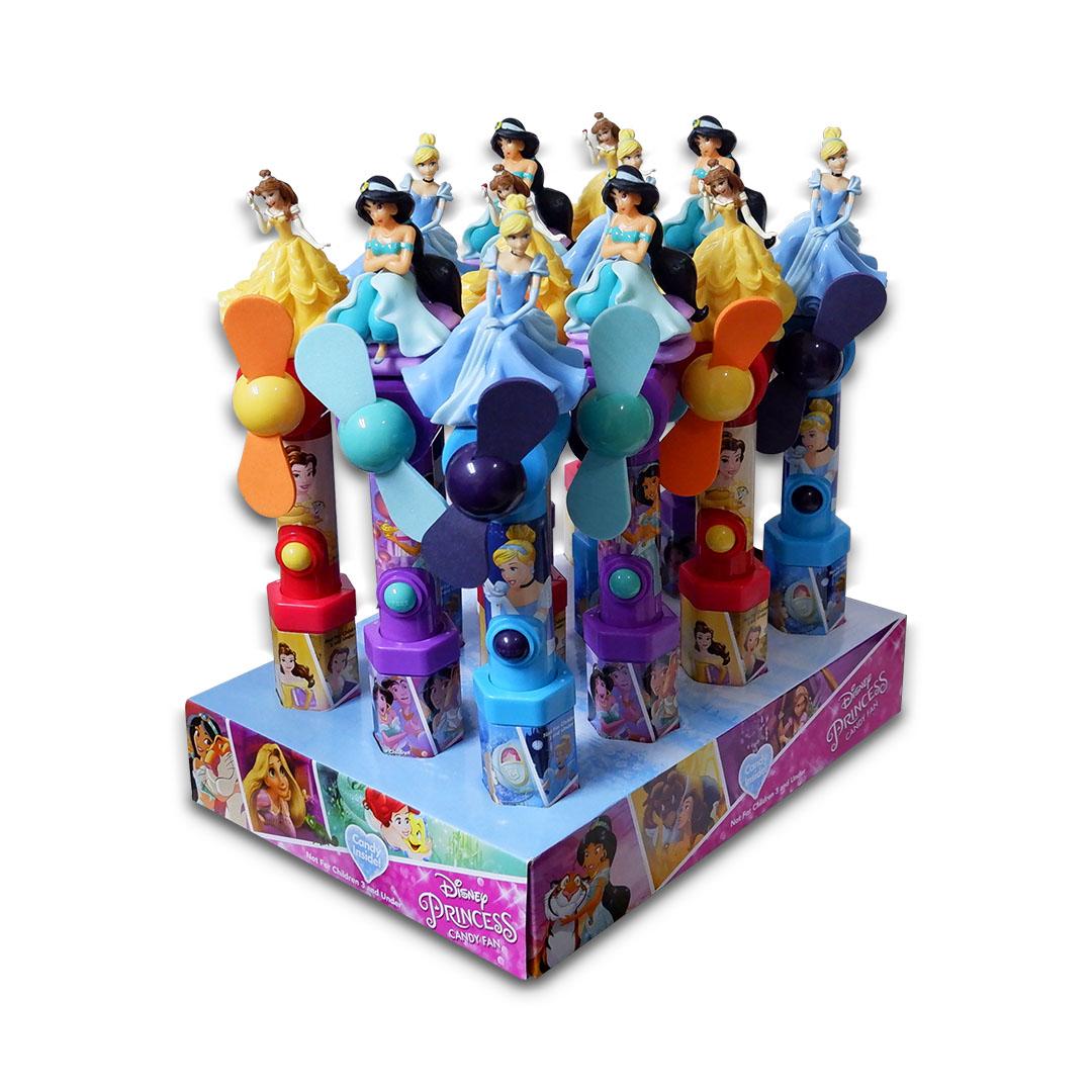 Disney Princess Character Candy Fan 15g x 12
