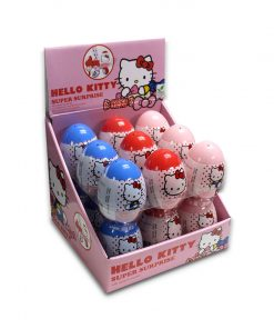 Hello Kitty Surprise Egg with Sweet And Surprises Inside 10g x 18