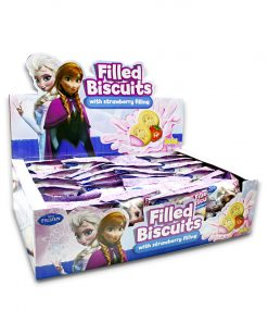 Juju Disney Frozen Filled Biscuit Strawberry 25g x 24
