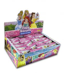 Juju Disney Princess Filled Biscuit with Milk Cream Filling 26g x 24