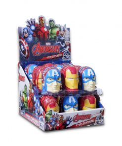 Juju Marvel Avengers Candy Container with Candy + Collectible 10g x 18