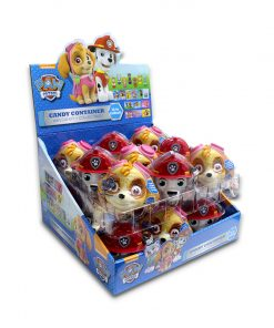 Juju Paw Patrol Candy Container with Candy + Collectible 10g x 18