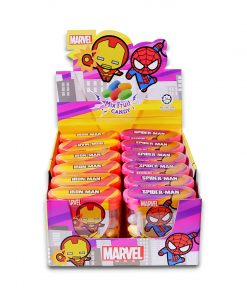 Marvel Avengers Kawaii Fruit Candy 17g x 12 Iron Man and Spider-Man