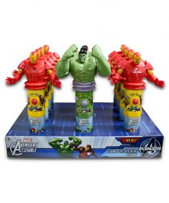Marvel Sound & Action Hero with Candy 15g x 12