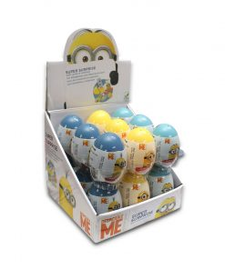 Minions Surprise Egg with Sweet And Surprises Inside 10g x 18
