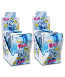 Trolli Cool Stars Lemon+ Menthol Gummy Candy 30g x 24