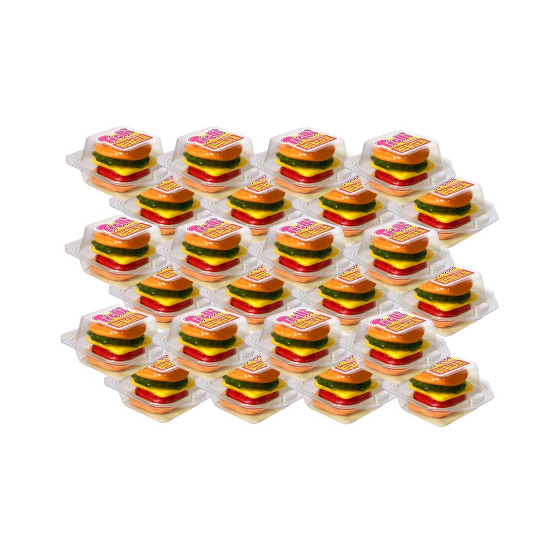 Trolli Gummy Burger Gummy Candy 50g x 24