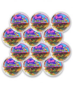 Trolli Neon Squiggles Gummy Candy 500g x 12