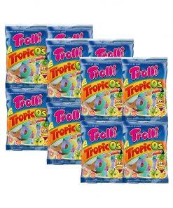 Trolli Tropic O's Gummy Candy 100g x 12