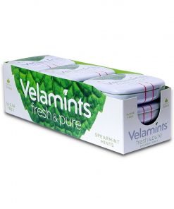 Velamints Spearmint Flavored Mint Candy Sugar Free Candy 20g x 9