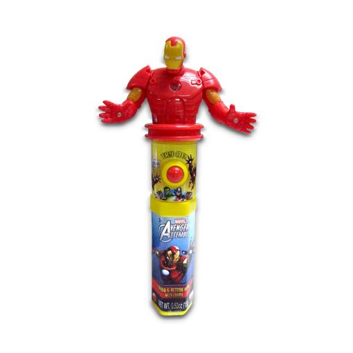 Marvel Sound & Action Hero with Candy 15g Iron Man