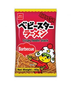 Baby Star Crispy Noodle Snack Barbeque 40g
