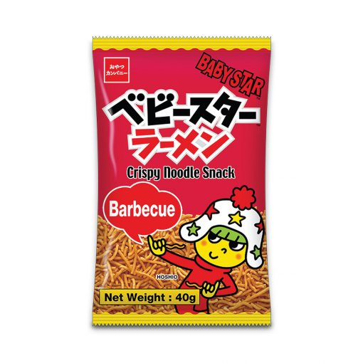 Baby Star Crispy Noodle Snack Barbeque 40g