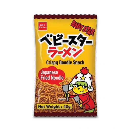 Baby Star Crispy Noodle Snack Japanese Fried Noodle 40g