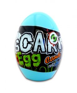 Beardy Scary Egg Candy with Toy 10g Blue