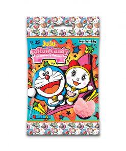 Juju Cotton Candy Strawberry Flavor 15g Doraemon
