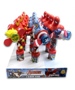 Marvel Candy Fan with Candy 15g x 12